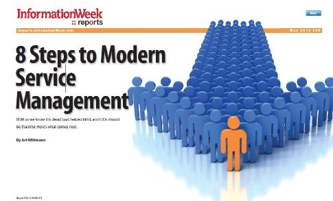 8 Steps to Modern Service Management