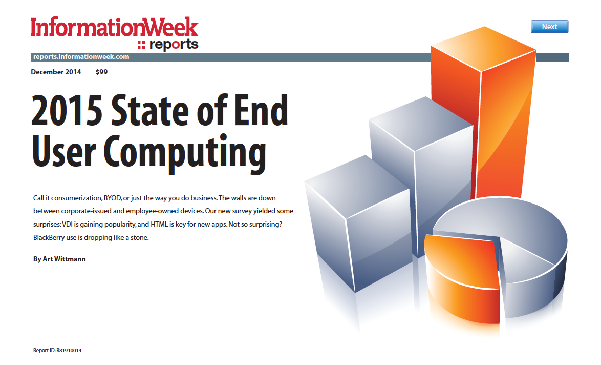 2015 State of End User Computing