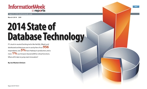 Research: 2014 State of Database Technology