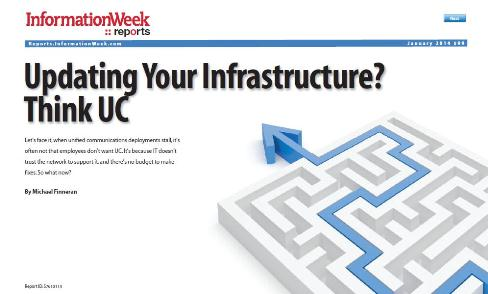 Updating your Infrastructure think UC