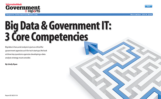 Big Data & Government IT: 3 Core Competencies