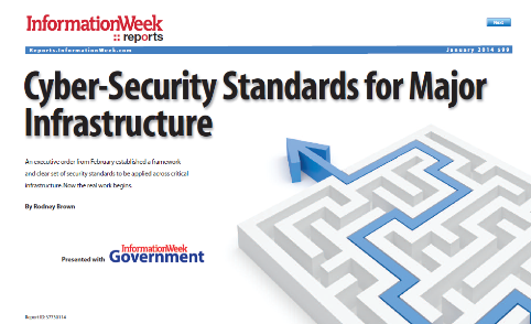 Cyber Security Standards for Major Infrastructure