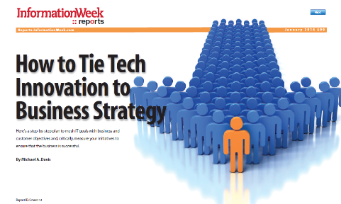 How to Tie Tech Innovation to Business Strategy