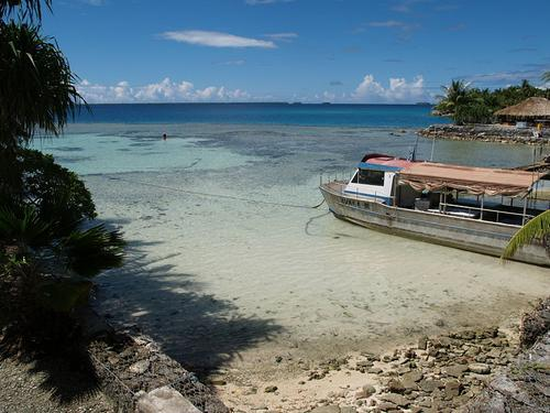 Nukunonu Lagoon in Tokelau. (Source: CloudSurfer)