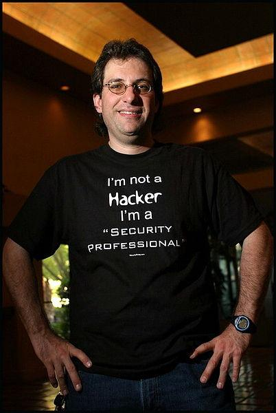 Kevin Mitnick. Photo: Mikhail Romanenko.