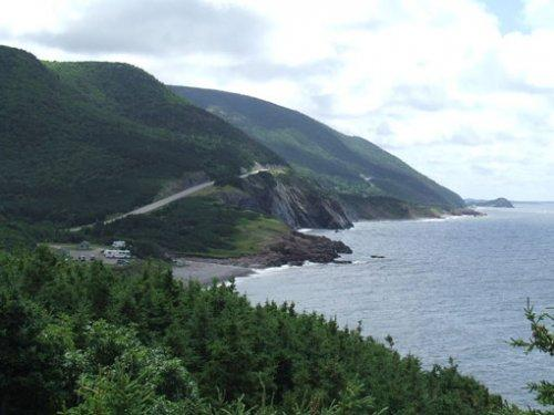 Cap Rouge, Cabot Trail, Nova Scotia. Source: Tom Wilson.