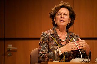 Neelie Kroes of the EU. (Source: Sebastiaan ter Burg via Wikimedia Commons)