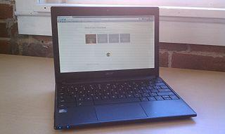 An Acer Chromebook. (Photo: Wikimedia)