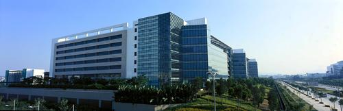 R&D Center at Huawei Global Headquarters in Shenzhen. Photo: Huawei.