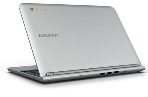 Google's name does not currently appear anywhere on the exterior of the Chromebook, something that would change if it makes its own hardware as rumored.