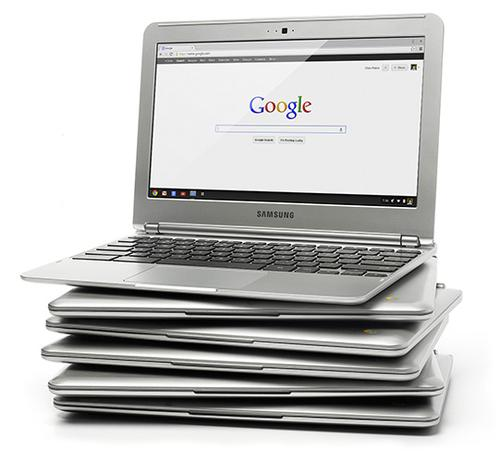 The Samsung Chromebook uses web-based apps to ensure apps -- and security -- remain current, and ends the need for time- and storage-consuming software downloads. 