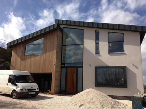 Technologies installed in this British home, currently being completed, include a Danfoss AQ air source heat pump, Multi-room Ventilation & Heat Recovery system, and under-floor heating throughout.(Source: Danfoss UK)