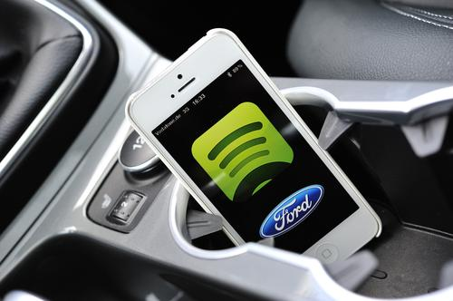 Spotify is compatible with Ford Sync AppLink