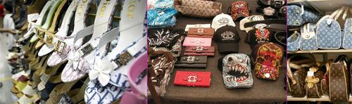 Executives in businesses such as retail, consumer electronics, and manufacturing have always worried about counterfeit goods -- such as these fake Dior, Coach, and Louis Vuitton wares -- and supply chain woes. Now CIOs face similar concerns.