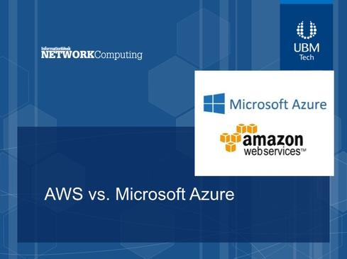 Amazon's AWS Vs. Microsoft Azure: Cloud Services Compared