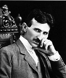 Tesla, aged 40, 1896