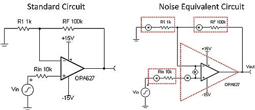Equivalent noise circuit
