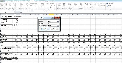 how to use goal seek on excel 2016