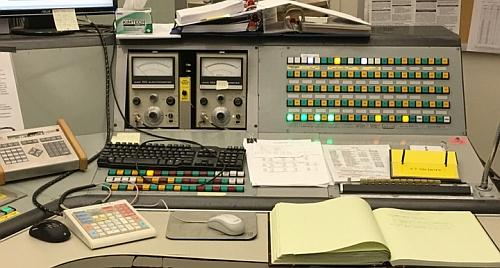 Control Panel Area One at the Cyclotron Institute at Texas A&M