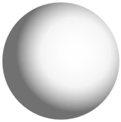 Visualize a translucent sphere upon which one could project graphical images and videos.
