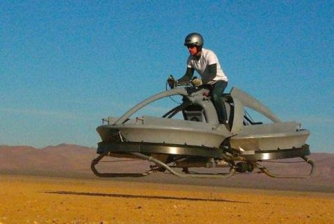 The Aerofex hover vehicle.