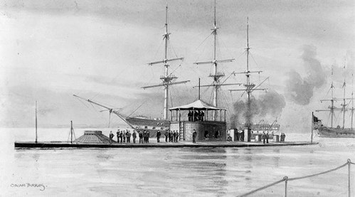 A US Navy ironclad that fought in the Civil War.