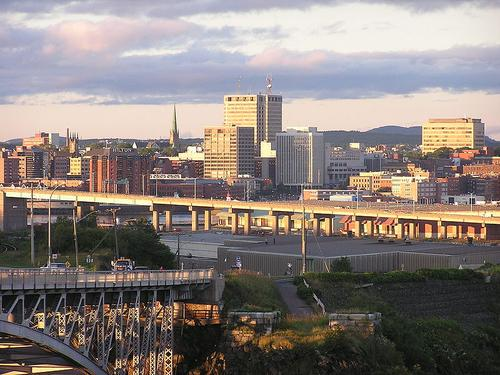 Saint John, New Brunswick. Photo via Wikimedia Commons.