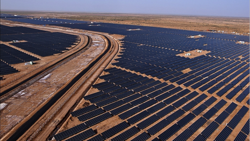Solar Park at Charanka 