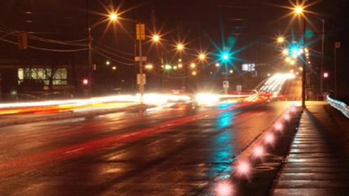 LED street lights from Solar Cynergy.  (Source: Inhabitat)