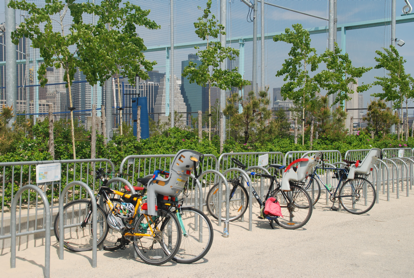 Transport of choice to Brooklyn Bridge Park.