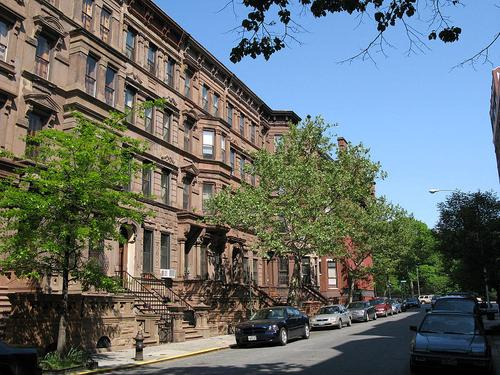 A street in Harlem. (Source: Wikimedia Commons)
