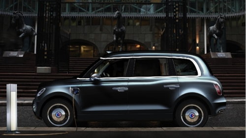 The proposed new London Taxi Company Model.(Source: www.london-taxis.co.uk/new)