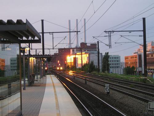 Nordhavn station, Copenhagen, Denmark.  (Source: Bertil Videt)