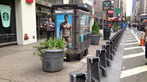 New Citi Bike terminal on 33rd Street and 6th Avenue in Manhattan.