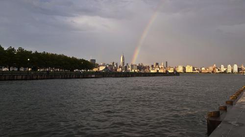 Coast of New York City, as seen from Hoboken, NJ. (Photo by: John Dalton.)