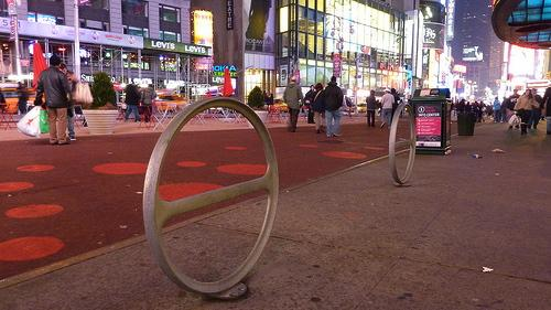 CityRacks in Times Square. (Source: Greg Raisman via Flickr.)