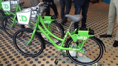 Phoenix's GR:D Bikes, powered by Social Bicycles, will officially debut this winter.