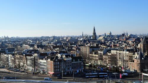 The urine donated by men in Amsterdam could turn the city's skyline into a sea of green
