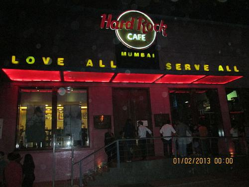 The Hard Rock Cafe nightclub in Mumbai.(Source: Rudolph.A.furtado via Wikimedia)
