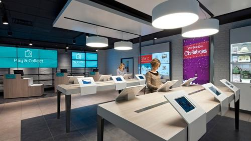 Inside new Argos concept store on Old Street, east London