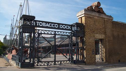 Businesses and academics shared their ideas at the RE.Work Cities event at Tobacco Dock.