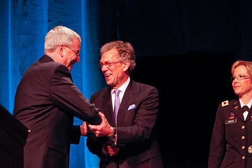 Former US Sen. Tom Daschle is on the TNEM advisory board.(Source: MilitaryHealth via Flickr)