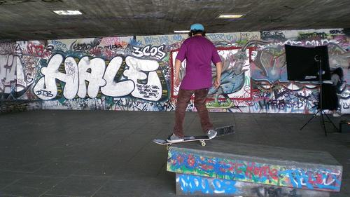 Southbank Centre skatepark, the apple of Boris's eye.(Source: Jo Carter via Flickr.)