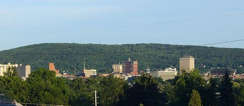 Skyline of Binghamton, N.Y.(Source: vmanjr via Wikimedia)