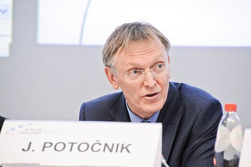 Janez Potočnik, European Commissioner for Environment.  (Photo: Friends of Europe via Wikimedia and Flickr)