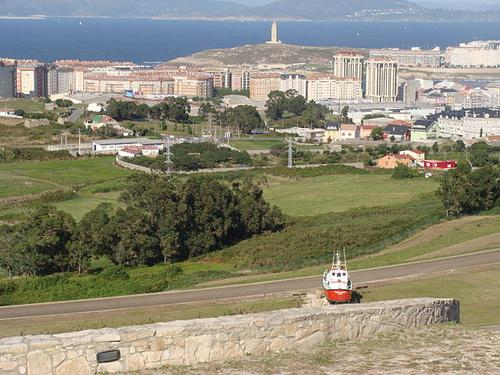 Coruna, Spain, has been earmarked for a smart cities project driven by ICT consultancy Indra. (Photo: Drow male via Wikimedia)