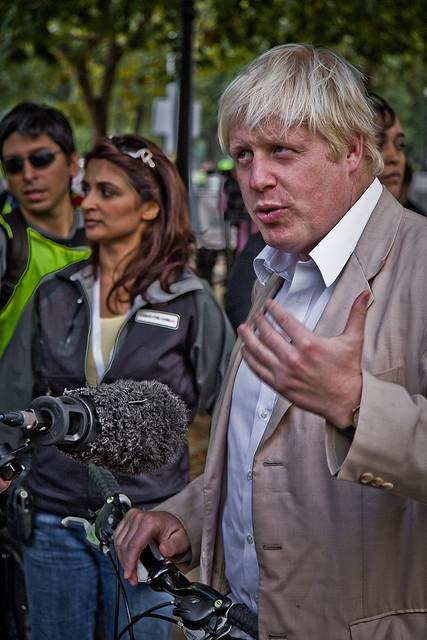 Boris Johnson.(Source: Garry Knight via Flickr)