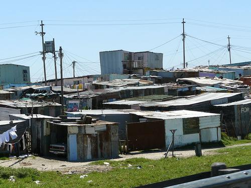 Khayelitsha township, South Africa. Source: Chell Hill.