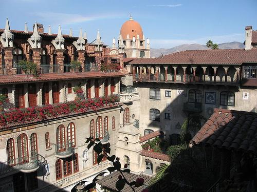 The Mission Inn in Riverside, Calif.