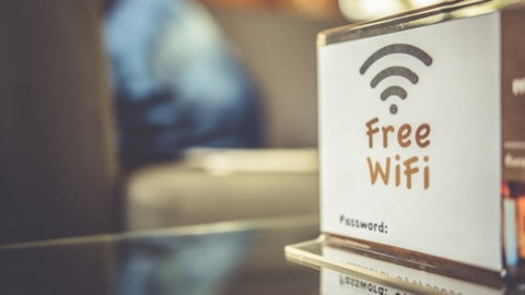 Be Wary of Public Wi-Fi  'Be careful using public Wi-Fi if you're working on the go. Public Wi-Fi tends to have lax or nonexistent security -- leaving the network and your computer vulnerable to hackers.'  --Troy Gill, senior cybersecurity analyst, AppRiver   Image Source: Adobe (Aris Suwanmalee)